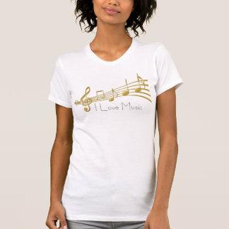 I Liebe-Musik T-Shirt