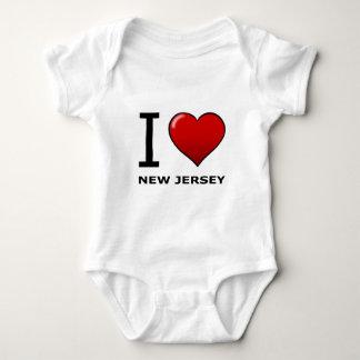 I LIEBE NEW-JERSEY BABY STRAMPLER
