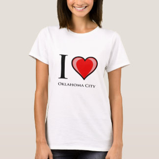 I Liebe Oklahoma City T-Shirt
