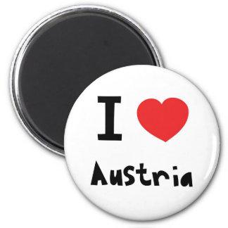I Liebe Österreich Kühlschrankmagnet