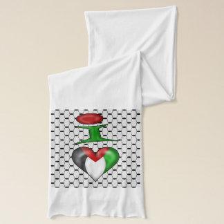I Liebe Palästina Schal