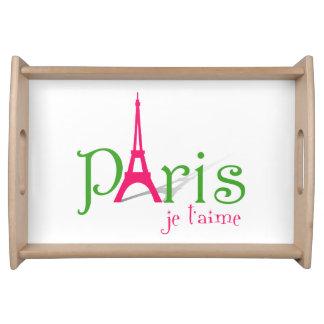 I Liebe Paris Serviertablett
