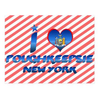 I Liebe Poughkeepsie, New York Postkarte