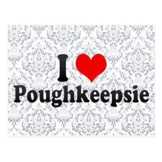 I Liebe Poughkeepsie, Vereinigte Staaten Postkarte