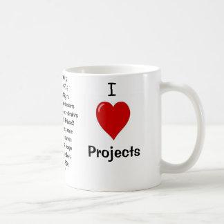 I Liebe-Projekte - unhöfliche Gründe warum! Kaffeetasse