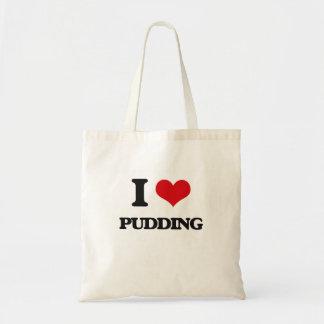 I Liebe-Pudding Budget Stoffbeutel