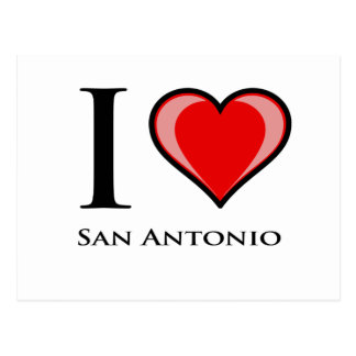 I Liebe San Antonio Postkarte