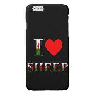 I Liebe-Schafe (Waliser-Version) iPhone 6/6s Fall