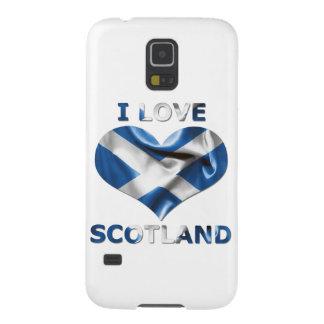 I Liebe-Schottland-Herz-Flagge Galaxy S5 Hülle