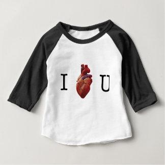 I Liebe Sie Baby T-shirt