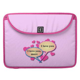 I Liebe Sie mehr MacBook Prohülsen MacBook Pro Sleeve