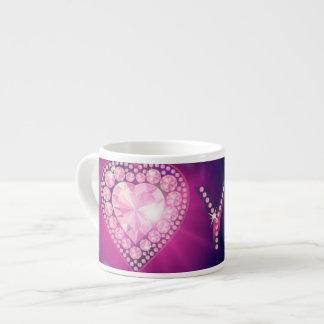 I Liebe Sie Tasse Espresso-Tassen