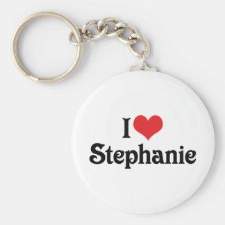 I Liebe Stephanie Schlüsselanhänger