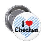 I Liebe-Tschetschene Button