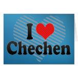 I Liebe-Tschetschene Karten