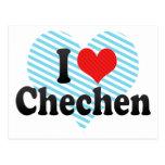 I Liebe-Tschetschene Postkarten