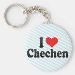 I Liebe-Tschetschene Schlüsselanhänger