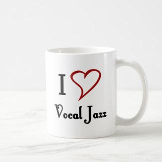 I Liebe-vernehmbarer Jazz Tasse