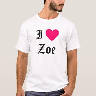 I Liebe Zoe T-Shirt
