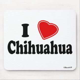 I LiebeChihuahua Mauspad
