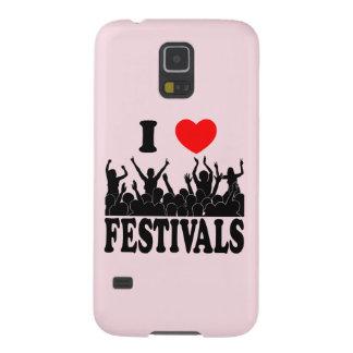 I Liebefestivals (Schwarzes) Hülle Fürs Galaxy S5