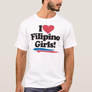 I Liebefilipino-Mädchen T-Shirt