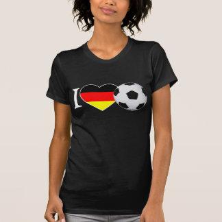 I Love Fussball Deutschland T-Shirt