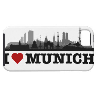 I Love Munich city of skyline - iPhone4 sleeve Tough iPhone 5 Hülle