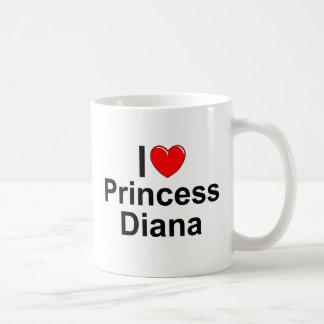 I Prinzessin Diana der Liebe-(Herz) Tasse