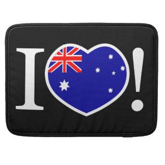 I Prohülsen Liebe-Australiens Macbook Sleeve Für MacBooks