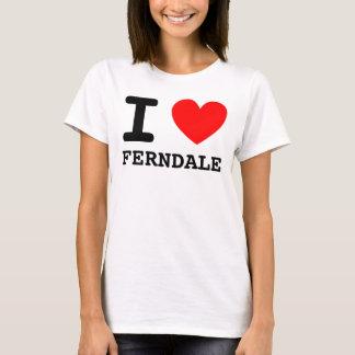 I Shirt des Herz-FERNDALE