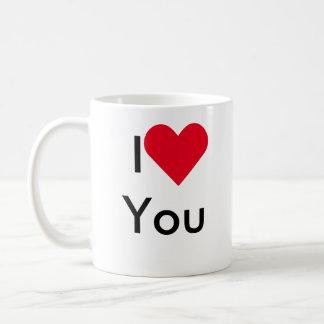 ♥ I Sie, Tasse gerade scherzend