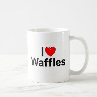 I Waffeln der Liebe-(Herz) Kaffeetasse