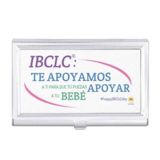 IBCLC® TagesVisitenkarte-Halter (spanisch) Visitenkarten-Dosen