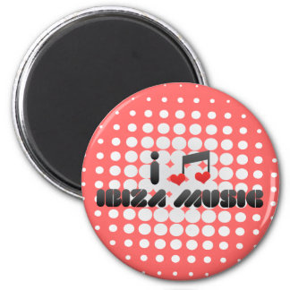 Ibiza Musikfan Magnete