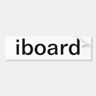 iboard Autoaufkleber