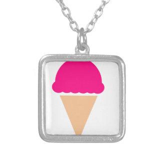 ice-cream-hi== versilberte kette
