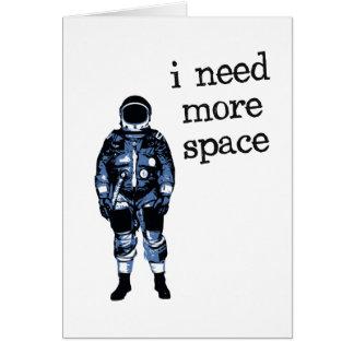 Ich benötige mehr Raum-Astronauten Karte