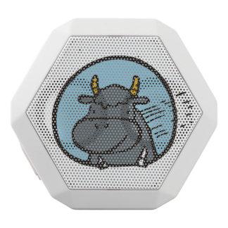 Ich bin als Stier stark Weiße Bluetooth Lautsprecher