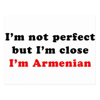 Ich bin armenisch postkarten