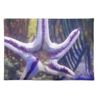 Ich bin auf Ihnen Starfish fest Stofftischset