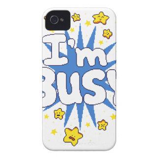 Ich bin beschäftigt iPhone 4 cover