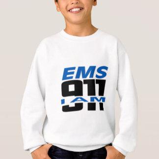 Ich bin das Material mit 911 Logos für Feuer, EMS, Sweatshirt