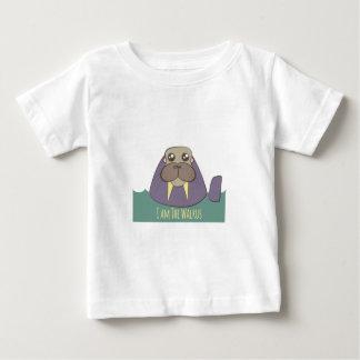 Ich bin das Walroß Baby T-shirt