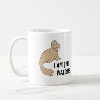 Ich bin das Walroß Tasse