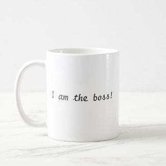 Ich bin der Chef! Tasse