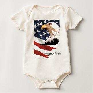 Ich bin der gemachte Amerikaner Baby Strampler