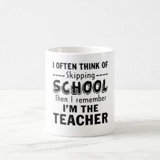 Ich bin der Lehrer Tasse