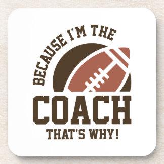 Ich bin der Trainer Untersetzer