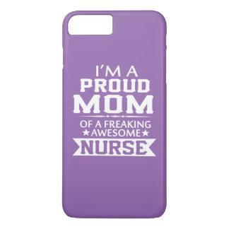 Ich bin die MAMMA EINER STOLZEN KRANKENSCHWESTER iPhone 8 Plus/7 Plus Hülle